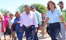 Atiende Gobernadora a familias de Benito Juárez afectadas por las lluvias