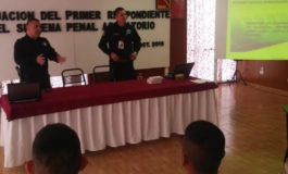 Imparten agentes municipales certificados curso de Primer Respondiente a militares del 24º y 73º Batallón de Infantería Recibidos
