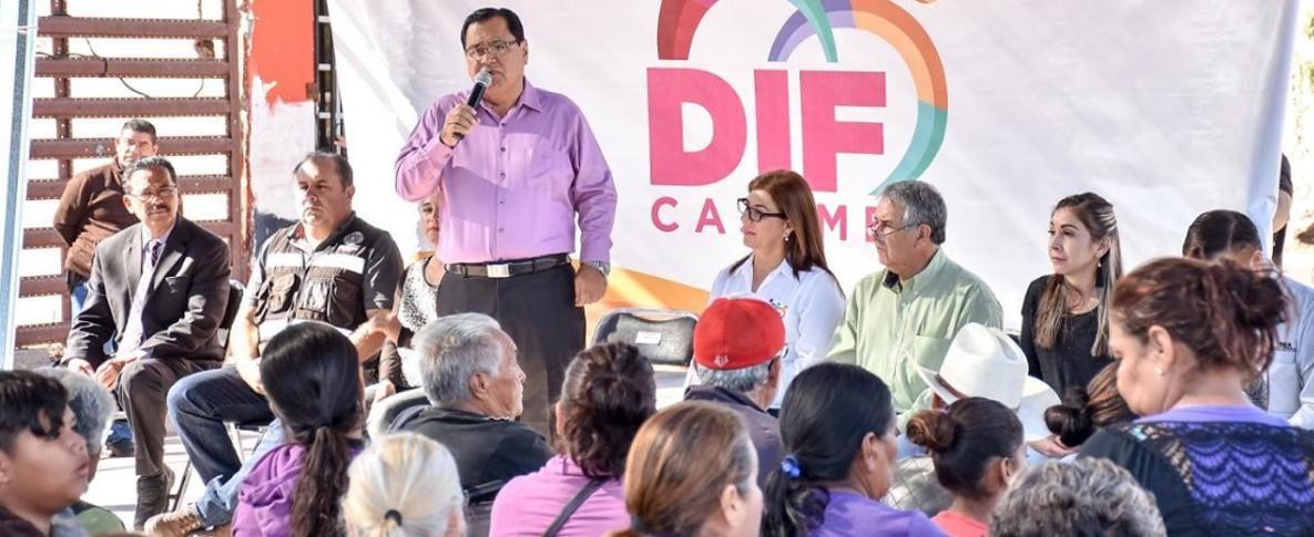 Entregan Apoyos Del Fonden En La Colonia Cuauhtémoc