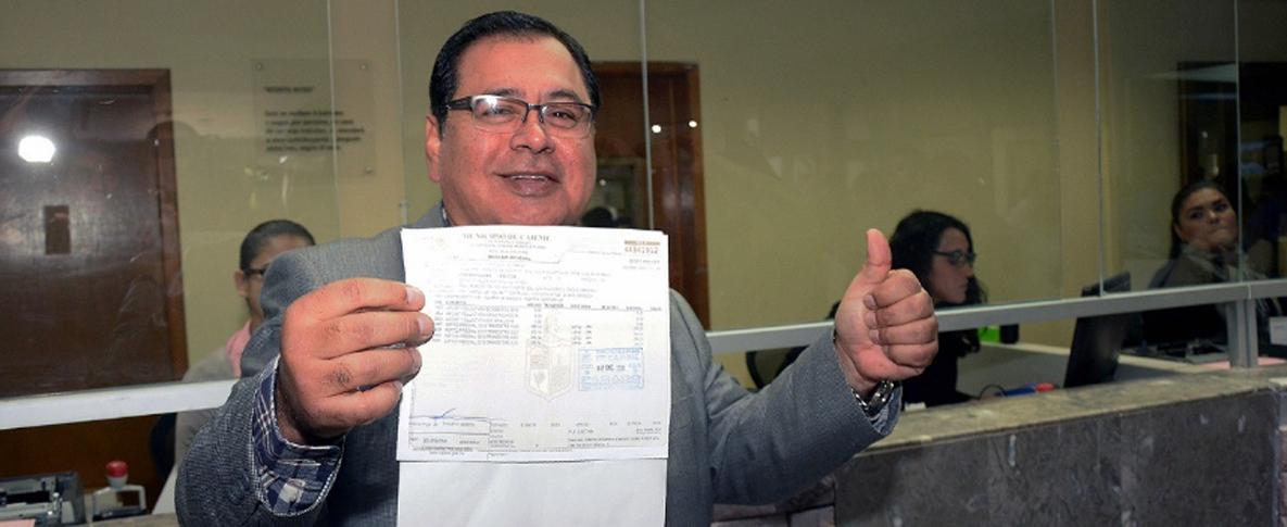 Arranca Alcalde Programa De Pago De Prediales