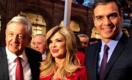 Asiste Gobernadora Pavlovich a visita oficial del Presidente de España a México