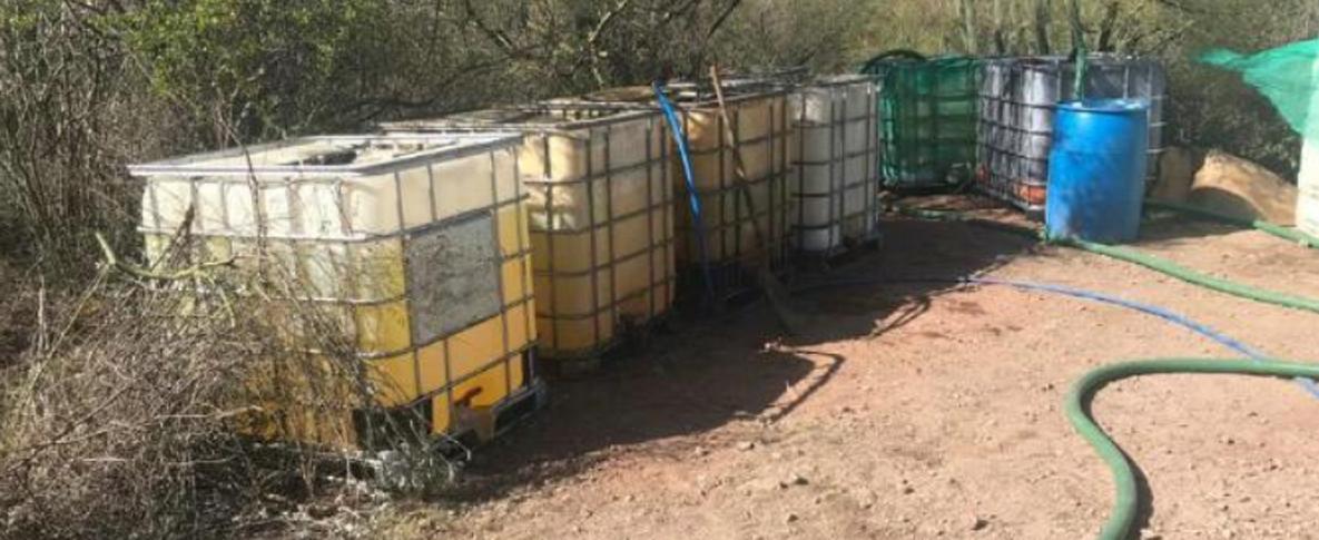 Incauta PF 50 mil litros de combustible y detecta ordeña en ducto Guaymas-Hermosillo