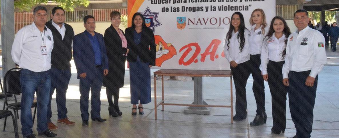 Alcaldesa Rosario Quintero Inaugura Novena Generaciónde D.A.R.E.