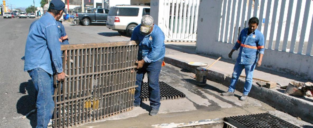 Destinarán alrededor de 2 MDP a reparación de parrillas pluviales en Hermosillo