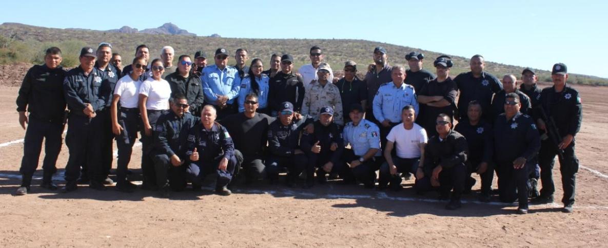 Arranca celebración del día del policía con torneo de tiro policial