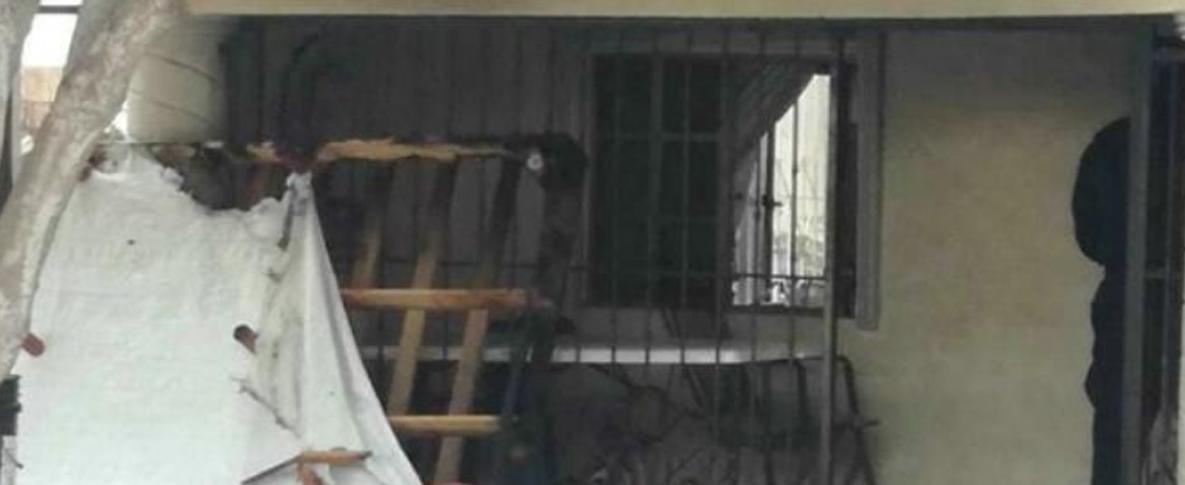 Se quema casa en colonia Cuauhtémoc