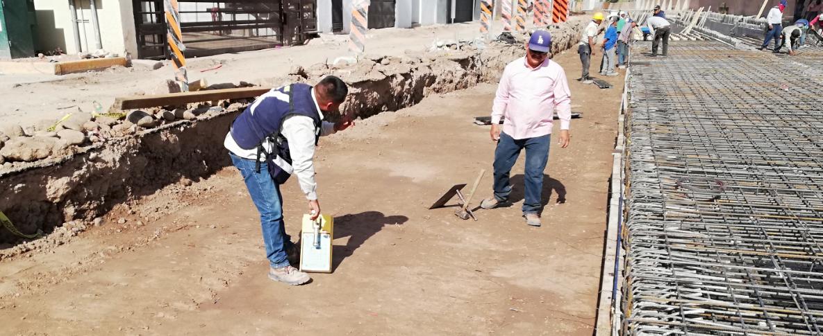 """Moderniza Sidur calle y canal """"El Chanate"""""""