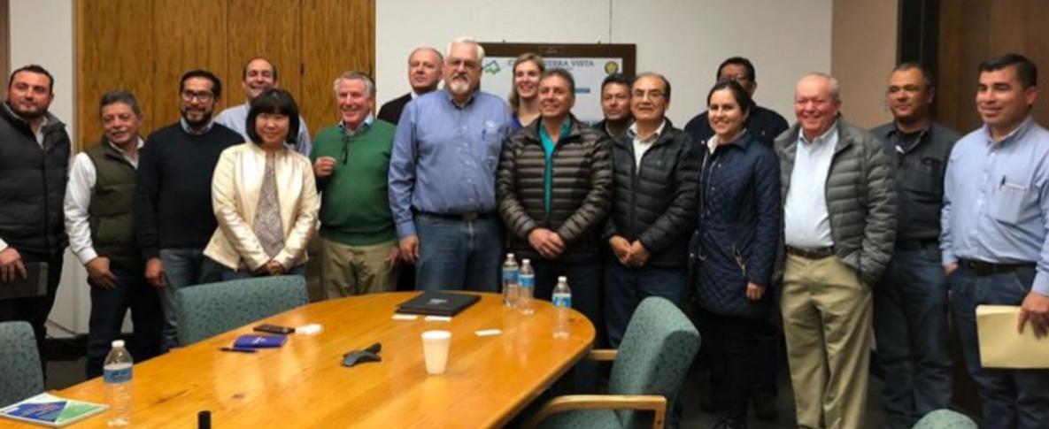 Se Reúne Alcalde Eduardo Quiroga con Rick Muller Alcalde de Sierra Vista.