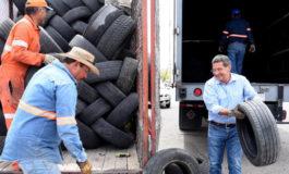 """Exitoso primer """"Llantatón"""" del año a cargo de Servicios Públicos Municipales"""
