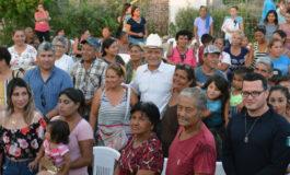 Presidente Ramòn Dìaz se reune con familias de la ampliación Huatabampo e inicia obra de drenaje y agua potable