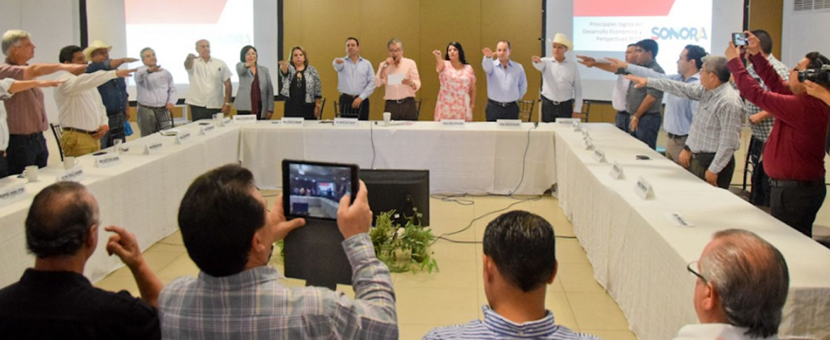 Se reúne Alcaldesa María del Rosario Quintero con el Secretario de Economía Estatal Jorge Vidal