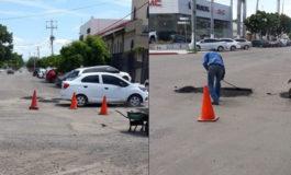 Continúa Dirección de Vialidad Urbana y Drenaje Pluvial con el programa emergente de bacheo