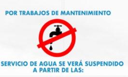 OOMAPAS Avisa sobre corte de servicio de agua potable por trabajos