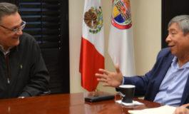 Sostiene Presidente del Congreso reuniones de trabajo con sector pesquero y Rector de UNISON