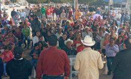 Anuncia alcalde de Cajeme grandes obras para Pueblo Yaqui