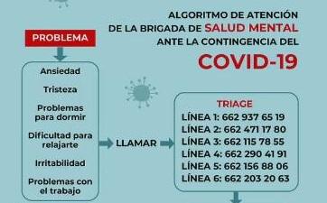 Insta Salud Sonora a observar síntomas atípicos de Covid-19 en personas con demencia