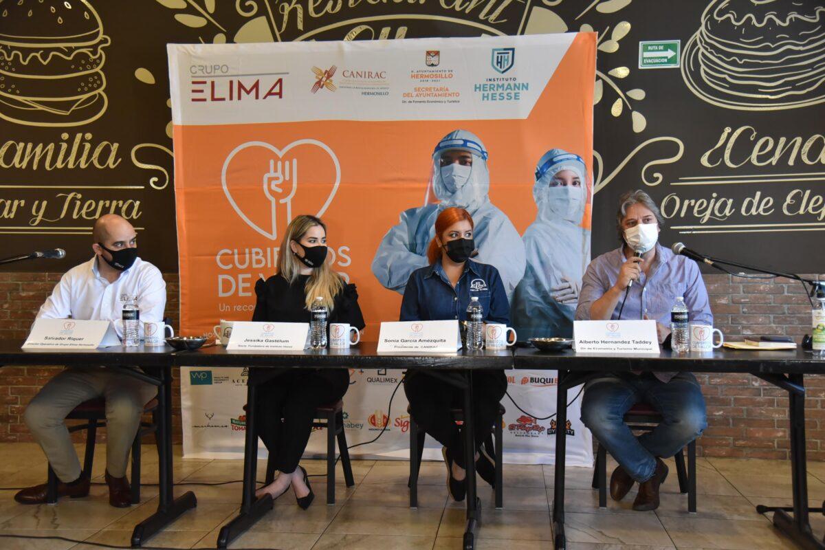 Sociedad Civil y Gobierno de Hermosillo suman esfuerzos para respaldar al personal de Salud