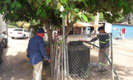REPARTE AGUA EL OOMAPASC EN COMUNIDADES RURALES