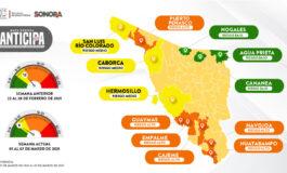 Logra Mapa Sonora Anticipa tendencia a la baja en casos COVID-19: Salud Sonora