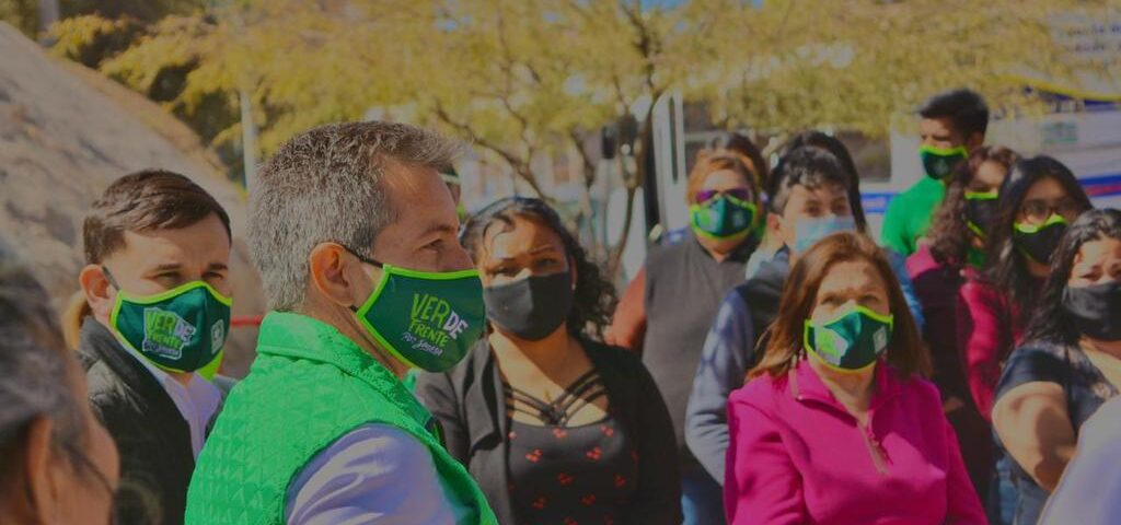 """""""Trabajaremos para hacer a Sonora la mejor frontera de México"""": Omar del Valle"""