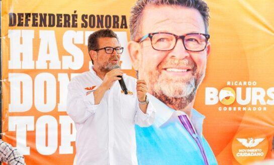Trabajaré para regresarle la paz a Sonora: Ricardo Bours