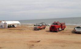 Continúan los trabajos de limpieza y bacheo en las Playas de Huatabampito
