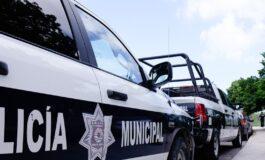 AGENTES DE LA POLICÍA MUNICIPAL ATRAPAN A SUJETO POR EL PRESUNTO DELITO DE ROBO CON VIOLENCIA EN GRADO DE TENTATIVA