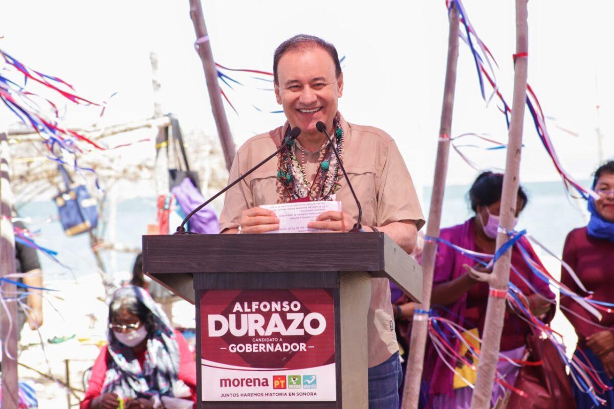Preparatorias para las comunidades seris, propone Alfonso Durazo