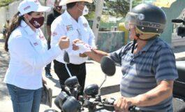 Realiza Celida López campaña cercana al pueblo