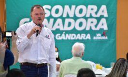 """Sonora tiene todo para su Reactivación, juntos la vamos a conseguir: """"Borrego"""" Gándara"""