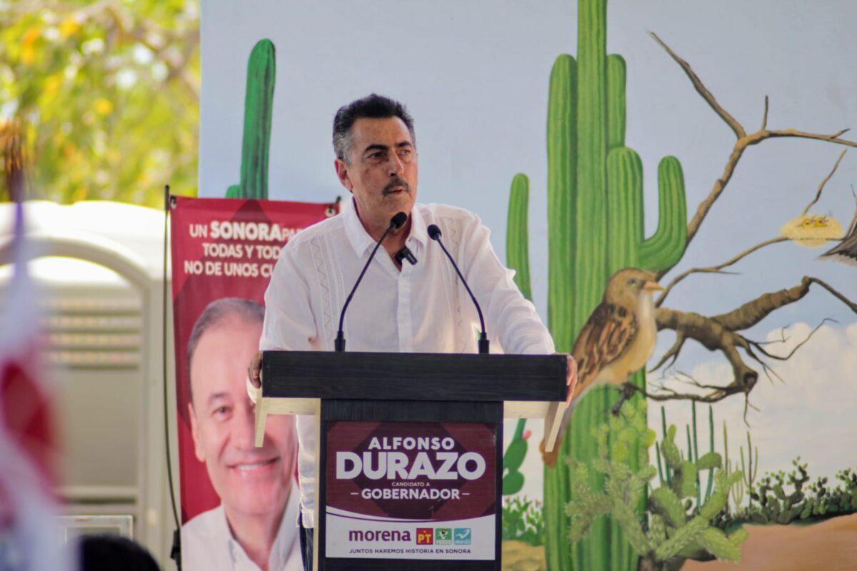 Apoyaremos la construcción de una planta potabilizadora para la Marte R. Gomez y Tobarito: Javier Lamarque.
