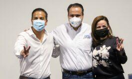 Reducir inseguridad y duplicar obra pública será prioridad: Toño Astiazarán