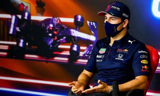 ''Checo'' Pérez, indispuesto durante la clasificación del GP de España