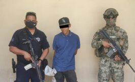 CAPTURAN ELEMENTOS DE LA POLICÍA MUNICIPAL A SUJETO POR PRESUNTO ROBO CON VIOLENCIA A CASA HABITACIÓN