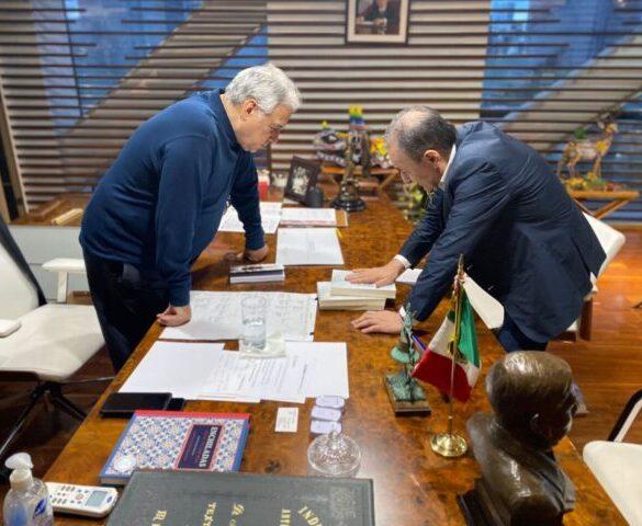 El gobernador electo, Alfonso Durazo, se reúne con el secretario de Turismo; analizan proyectos para Sonora.