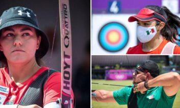 Con segundo lugar, México abre competencias en tiro con arco olímpico