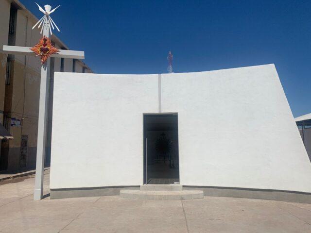 Construyen Personas Privadas de su Libertad Capilla en Cereso de Cajeme
