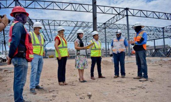 """""""Navojoa se Transforma con la Construcción de la Tienda Wal-Mart"""": Rosario Quintero"""