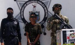 DETIENE LA POLICÍA MUNICIPAL A SUJETO POR EL PRESUNTO DELITO DE DESMANTELAMIENTO DE MOTOCICLETA CON REPORTE DE ROBO
