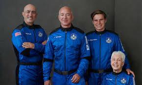 Jeff Bezos vive 'el mejor día' de su vida por viaje de 11 minutos al espacio