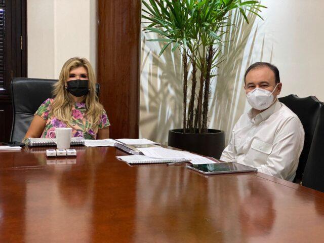 El gobernador electo y la gobernadora avanzan en la entrega-recepción de la administración estatal.