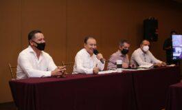 Alfonso Durazo anuncia nuevas incorporaciones a la Comisión Mixta de Entrega-Recepción del gobierno de Sonora.