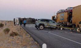 Trágico accidente carretero en el tramo SLRC~Sonoyta