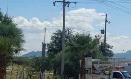 Reubicación de infraestructura eléctrica de CFE provocará desbasto de agua en el norte de la ciudad