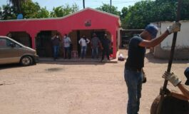 Directores de OOMAPASC  supervisan trabjos en la Comisaria de Providencia