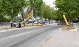 Repararán arco preventivo en paso a desnivel de Luis Encinas y Américas