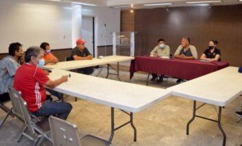 Sostienen reunión gobierno municipal y representantes del sector deportivo