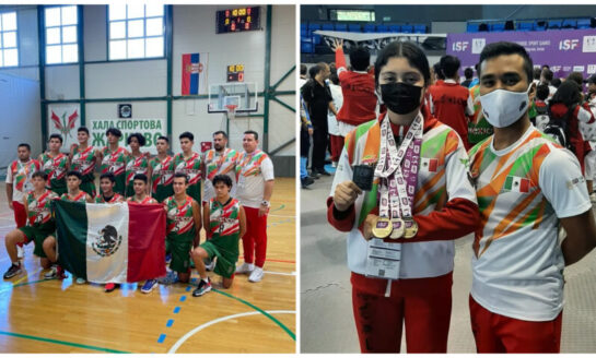 Continúa cosecha de medallas para México en Juegos Mundiales Escolares U15