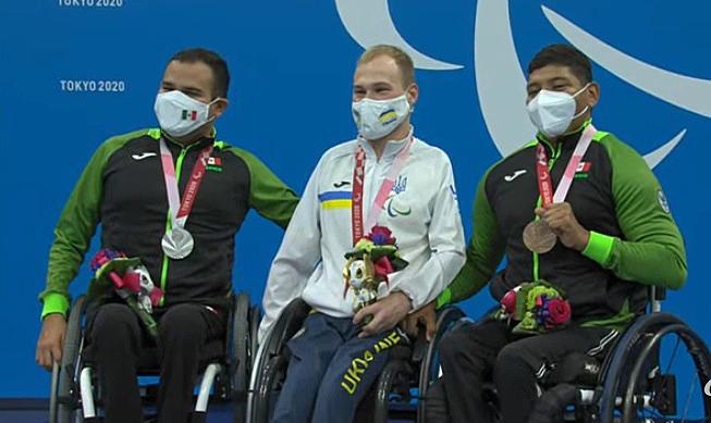 Tres tritones suben al podio en última jornada de para natación en Tokio 2020
