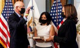 Nuevo Embajador de EU en México jura el cargo ante Kamala Harris